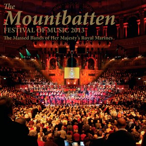 Mountbatten Festival of Music 2013 CD Cover