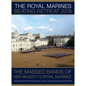 Royal Marines Beating Retreat 2016 DVD