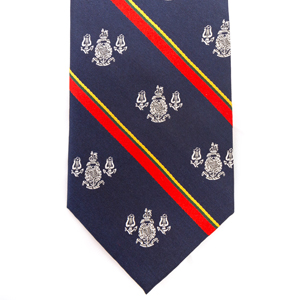 Royal Marines Band Service Tie