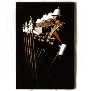 Royal Marines Drum Major Fridge Magnet