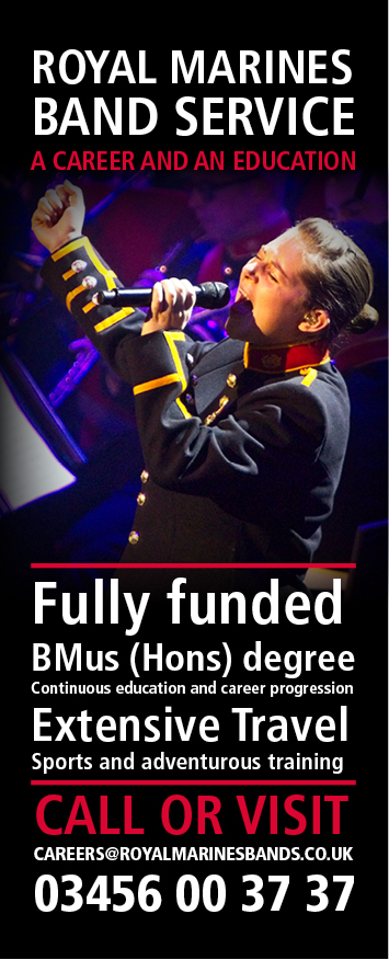 Royal Marines Band Service Careers Information