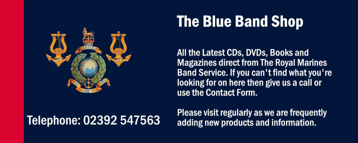 The Blue Band Shop - The official online shop of the Royal Marines Band Service