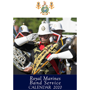 The 2020 Royal Marines Band Service Calendar