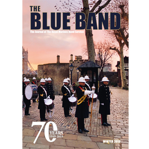 The Blue Band Magazine - The journal of the Royal Marines Band Service. Winter 2019