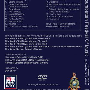 The Mountbatten Festival of Music 2009 DVD