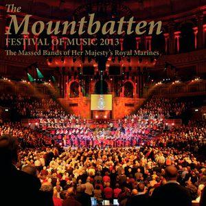Mountbatten Festival of Music 2013 CD Cover