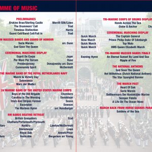 Beat Retreat 2014 DVD Programme of Music