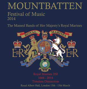 Mountbatten Festival of Music 2014 CD