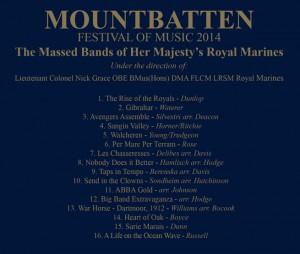 Mountbatten Festival of Music 2014