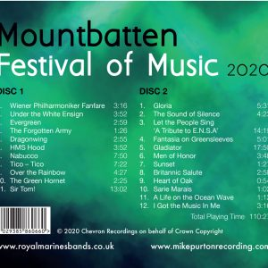 The Mountbatten Festival of Music 2020 CD