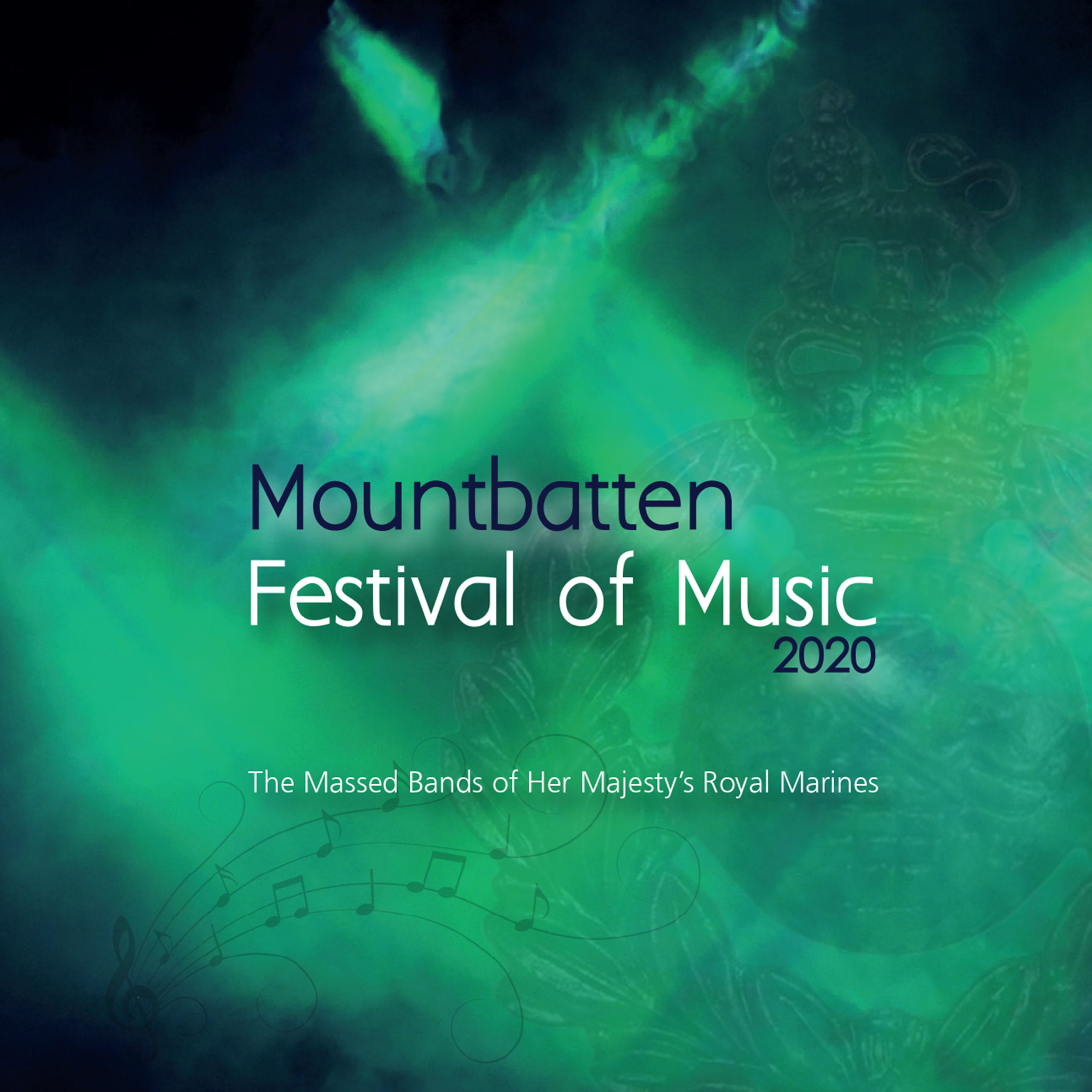 The Mountbatten Festival of Music 2020 CD - The Massed Bands of Her Majesty's Royal Marines