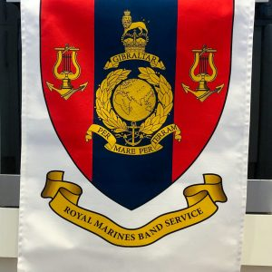 Royal Marines Band Service Tea Towel