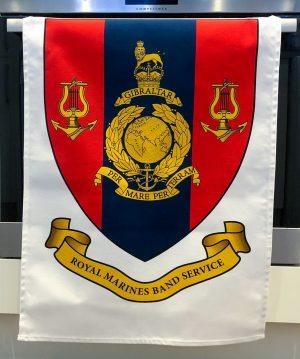Royal Marines Band Service Tea Towel